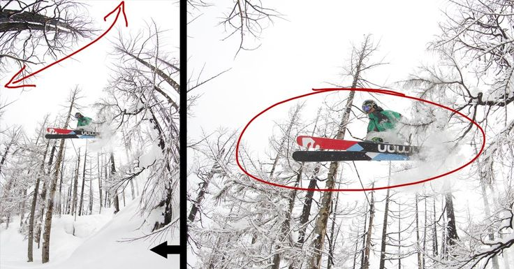 Behind the Shot: Snowy Skiing Fisheye -