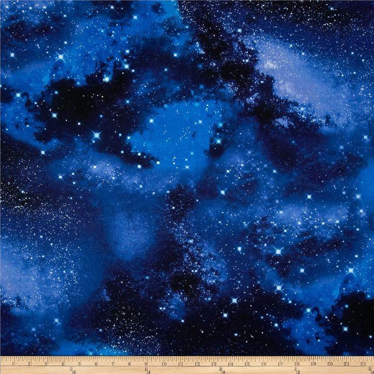 Timeless Treasures Space Galaxy -> Sessel neu beziehen