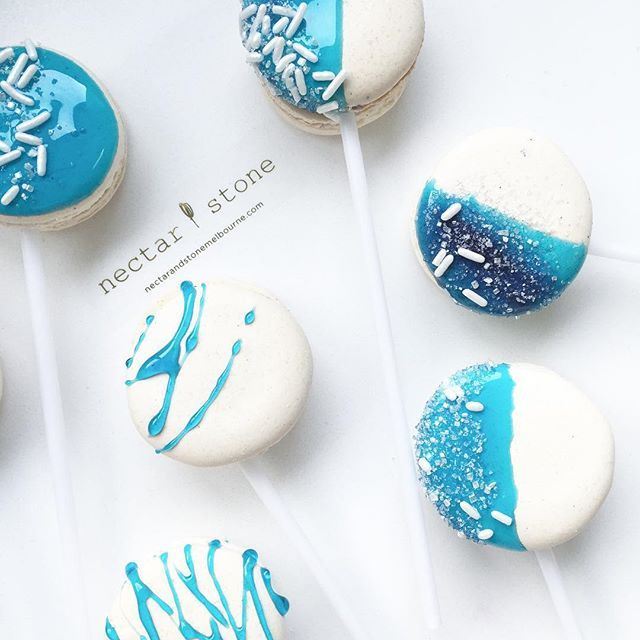 Ice Macarons - Nectar & Stone via Instagram