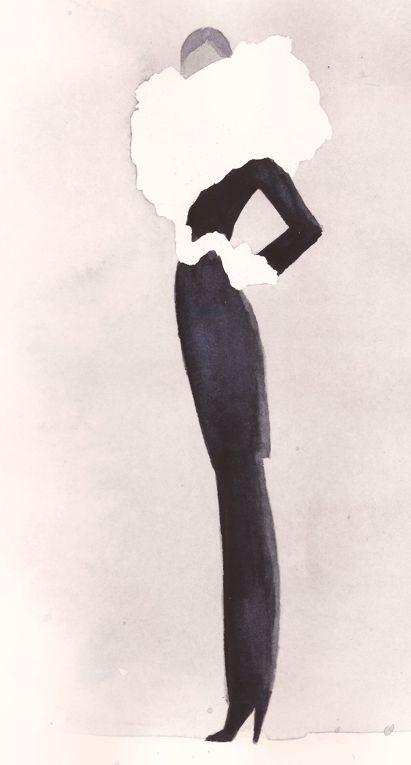 Mats Gustafson (Swedish, b. 1951). Fashion illustration on Artluxe Designs. #artluxedesigns