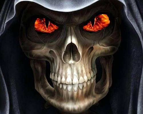 R13 Fire Eyed morte cross stitch chart