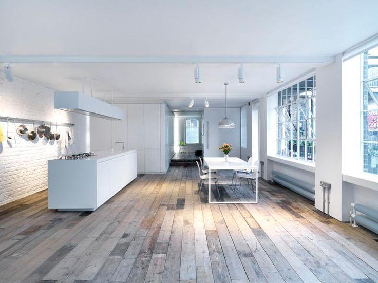 Appartamento openspace da single a Londra - Living