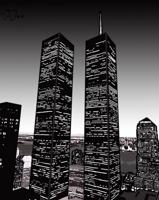 The World Trade Center   Never to be forgotten !