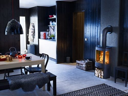 Fireplaces Trends - Fireplaces & Wood - Contura 850 Tube Fireplace (Photo #UwWoonmagazine )