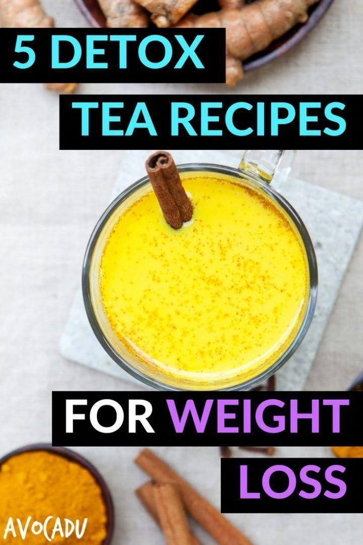 5 Detox tea recipes for weight loss | These detox drinks will help you lose weight