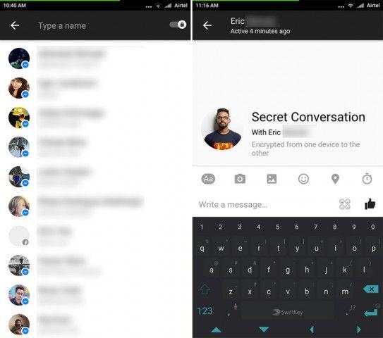 Το Facebook Messenger επιτρέπει την κρυπτογράφηση των συνομιλιών αλλά όχι και με τόσο εύχρηστο τρόπο