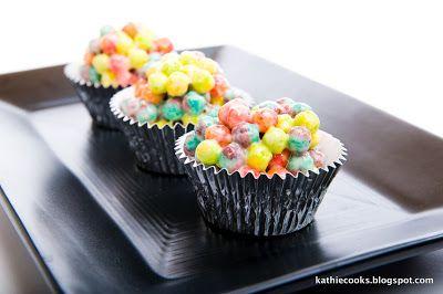trix marshmallow treats - Art Birthday Party