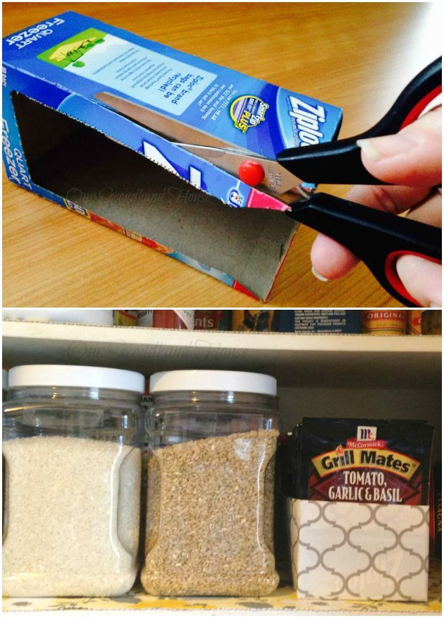 11 Genius Organizing Hacks. #8 will save me so much space & time!
