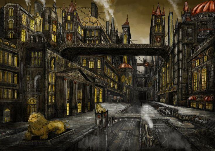 steampunk city name generator - 736×520
