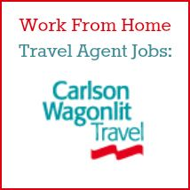 Work from home as a travel agent at Carlson Wagonlit Travel Found on realwaystoearnmoneyonline.com