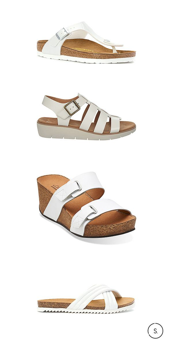 Bright white: the simple trend that sums up the entire SS15 season. Hit up the latest glowing styles on SHOES.com.