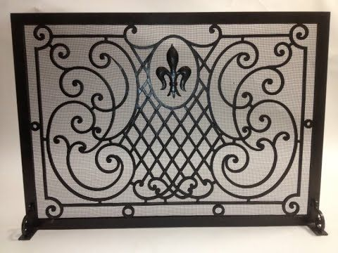 best 25 fireplace screens ideas on pinterest farmhouse fireplace screens welding screens and. Black Bedroom Furniture Sets. Home Design Ideas