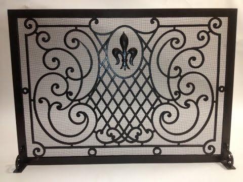 Decorative Super Custom Fireplace Screens