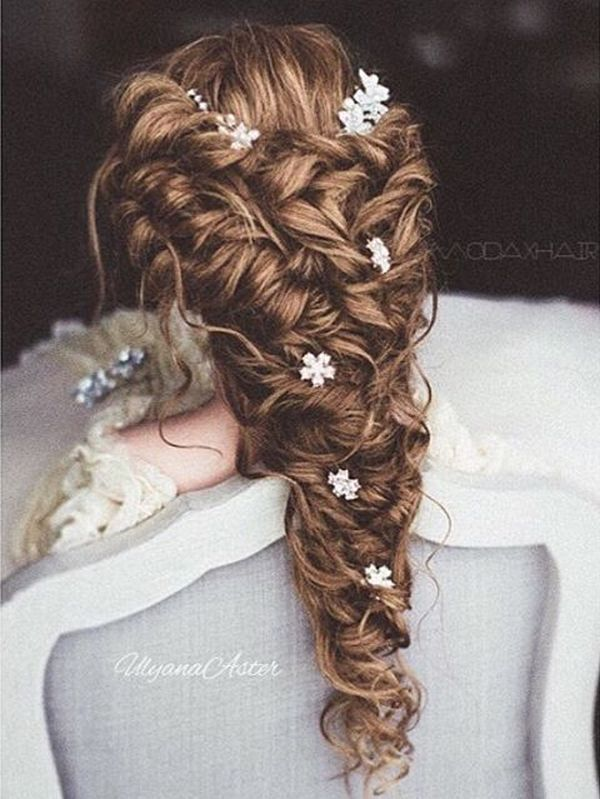 Ulyana Aster Long Bridal Hairstyles for Wedding_12 ❤️ See More: http://www.deerpearlflowers.com/long-wedding-hairstyleswe-absolutely-adore/
