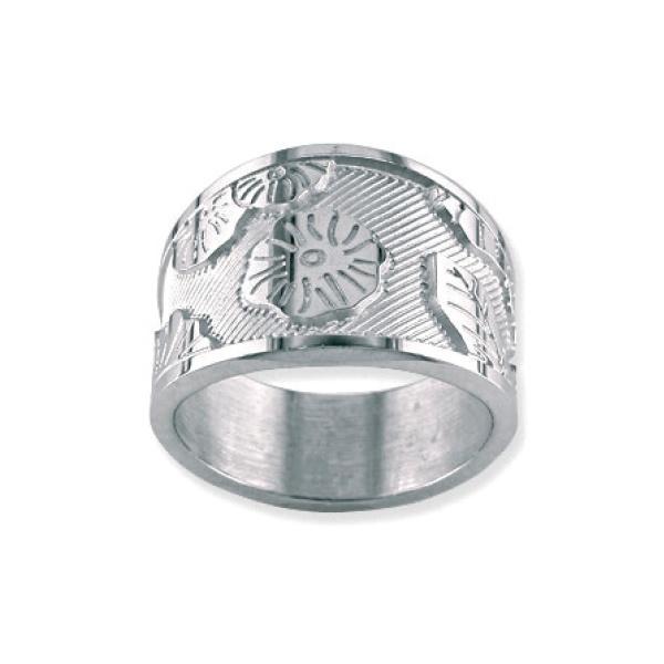 KENZO Yuan Etched Ring
