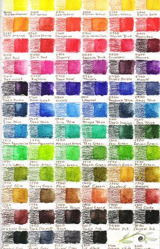 Very useful Inktense 72 Color Set