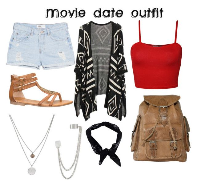 """""""Movie date outfit"""" by ceanagirl ❤ liked on Polyvore featuring WearAll, MANGO, maurices, Boohoo, Kenneth Cole and French Connection"""