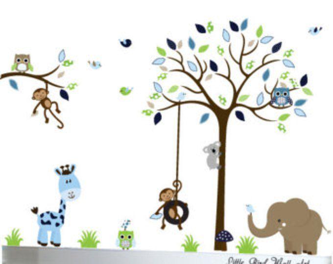 Good Kinder Wandtattoo Baum Eule Wand Aufkleber Vinyl Aufkleber Baum Wand