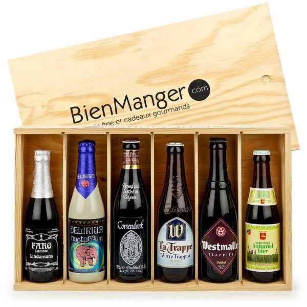 Coffret cadeau de 6 bières belges d'exception - BienManger paniers garnis