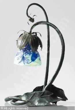 DAUM Nancy - LAMPE DE TABLE