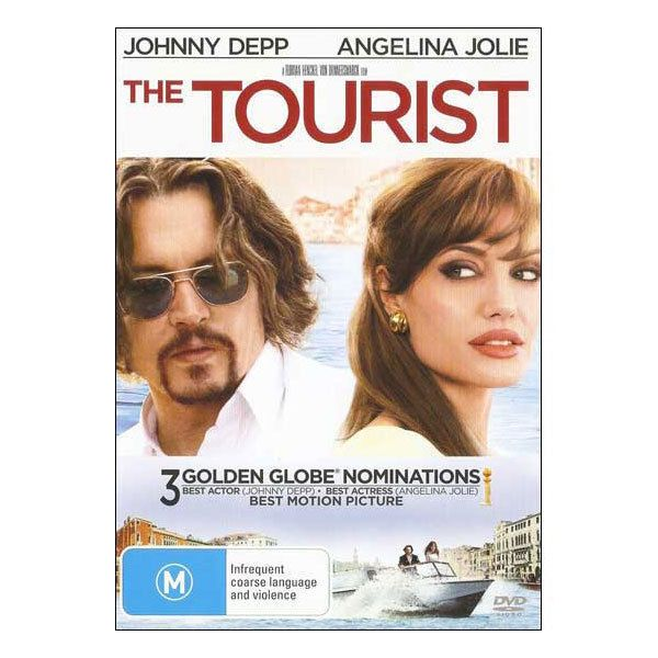 The Tourist DVD Brand New Region 4 Aust. - Johnny Depp, Angelina Jolie