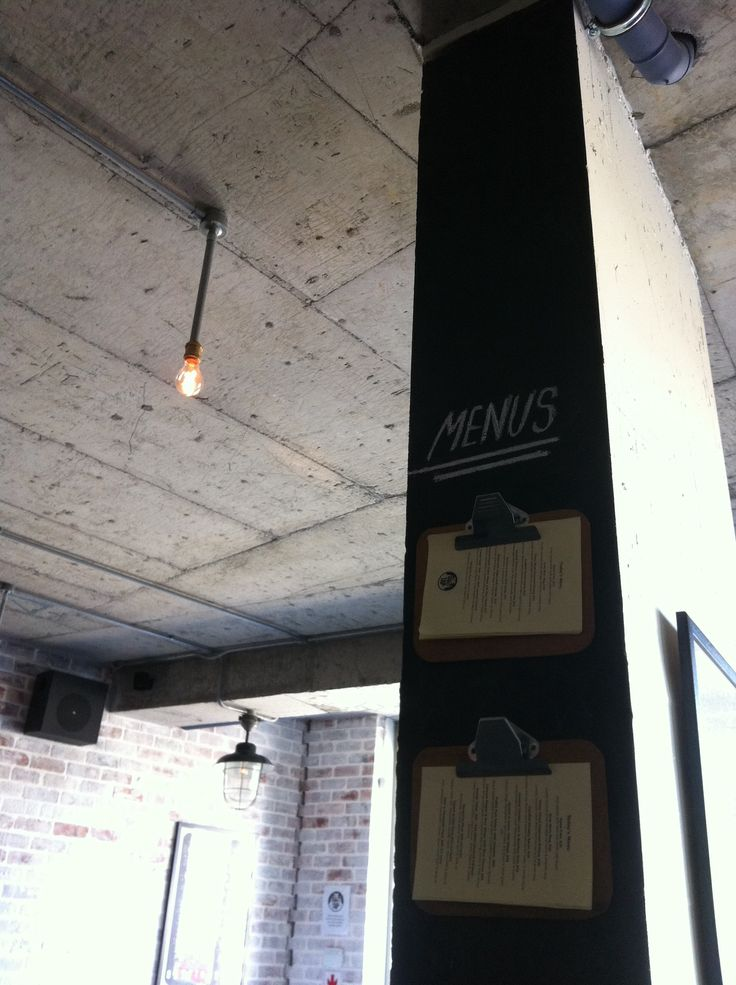 Hungry anyone? our Menus are always hanging out! #design #decor