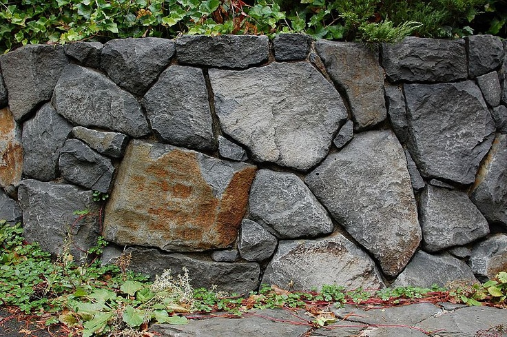 DIY Boulder Wall