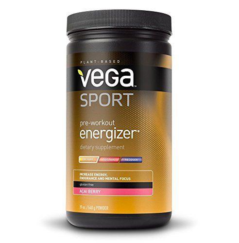 Vega Sport Pre-Workout Energizer, Acai Berry, Tub, 19oz - http://alternative-health.kindle-free-books.com/vega-sport-pre-workout-energizer-acai-berry-tub-19oz/