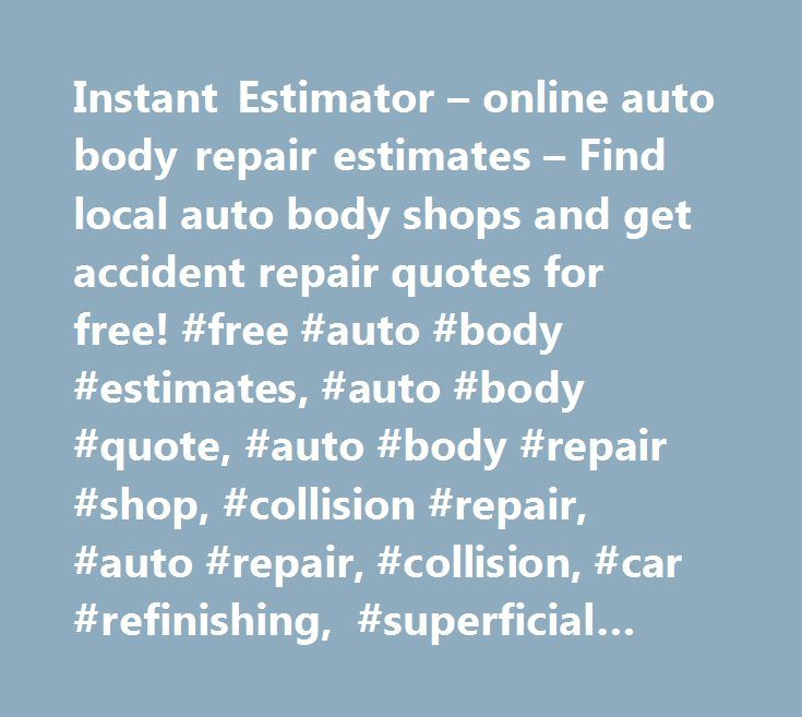 Auto Body Repair Cost Estimator: 25+ Best Ideas About Computer Repair Shop On Pinterest