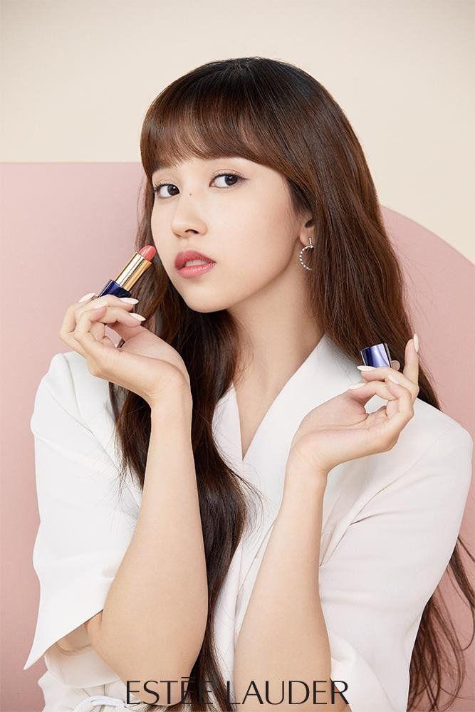 Twice Chosen As Ambassadors For Estee Lauder In Korea Allkpop Mina Kpop Girl Groups Twice