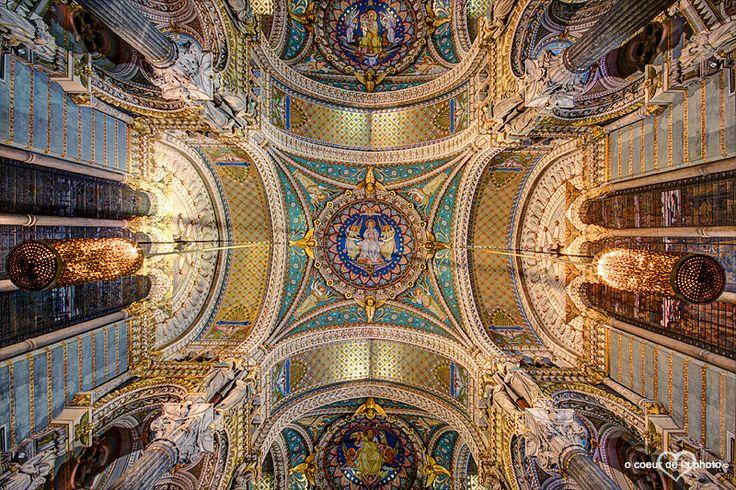 Basilique Notre-Dame de Fourvière, LYON, FRANCE