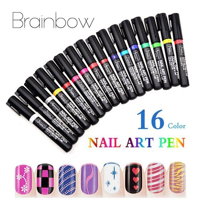 💬 #Косметика #Алиэкспресс #3D #16 #Цветов #Nail #Art #Pen #Дизайн #Живопись #Ногтей #Инструменты #УФ #гель #Лак Для #Ногтей #Ручки #Salon #Украшения #Инструменты #маникюр 💰Цена: ₽ 126,49 руб. / шт.  💰Цена: $  2.05 / шт.  📦Заказать: http://ali.pub/1nbg9p