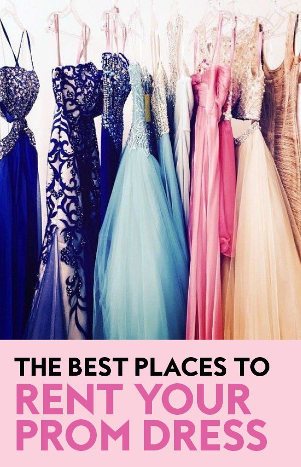 The Best Places to Rent Your Prom Dress