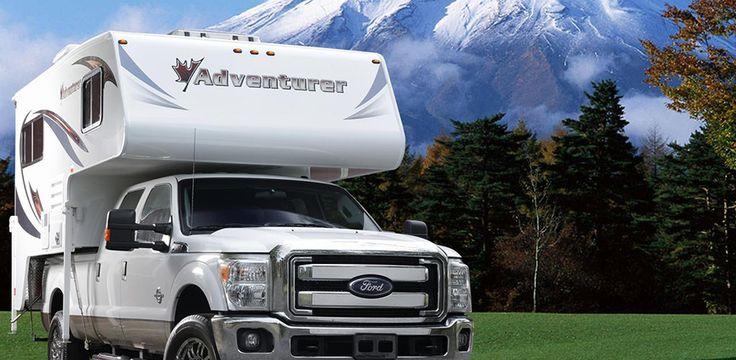 86FB Premium Pickup Campers, Slide in Campers by ALP
