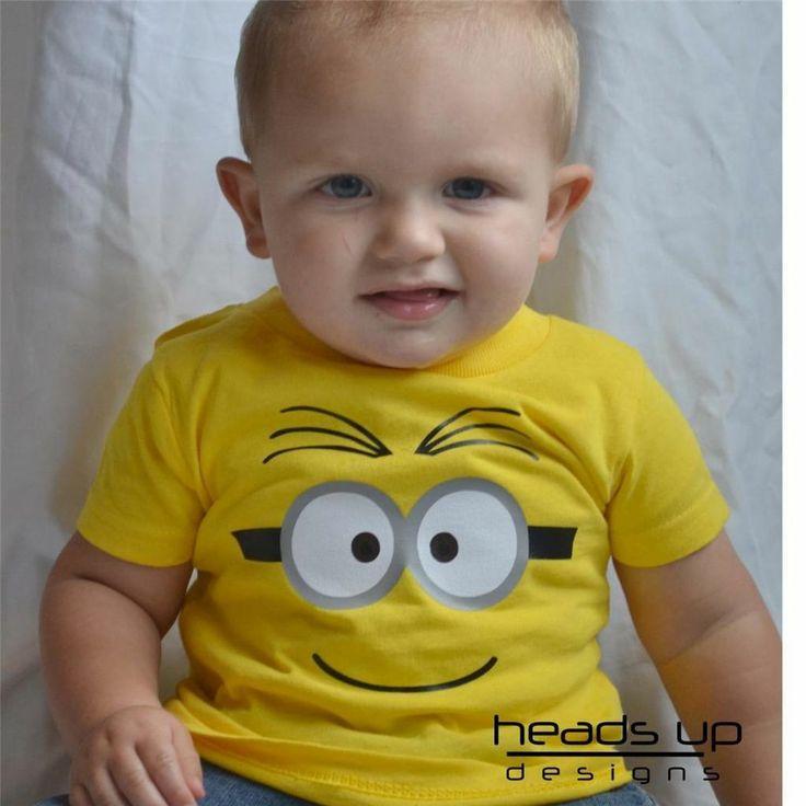 Minion Shirt Despicable Me Costume Boy Girl Baby Onesie Newborn Kid Adult