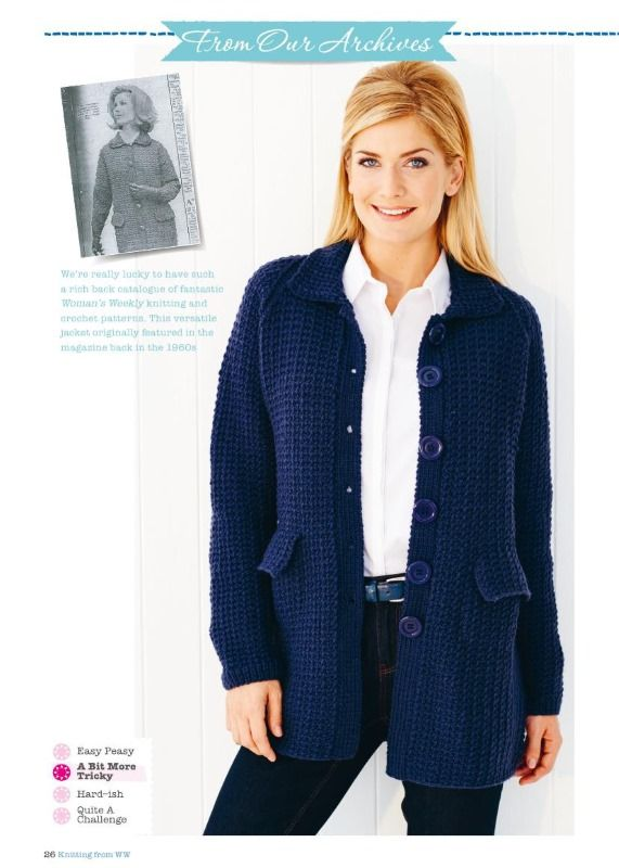 753 best chaquetas dos agujas l images on Pinterest | Chaquetas, Dos ...