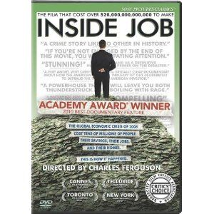 The global financial meltdown, at a cost of over $20 trillion, resulted in millions of people losing their homes and jobs. Through extensive research and interviews with major financial insiders, politicians and journalists, INSIDE JOB traces the rise of a rogue industry and unveils the corrosive relationships which have corrupted politics, regulation and academia.