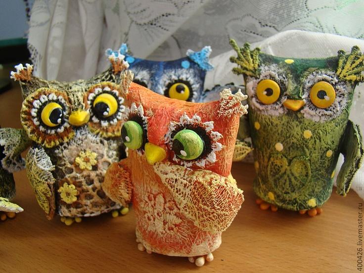 Owls by Svetlana Kanochkina