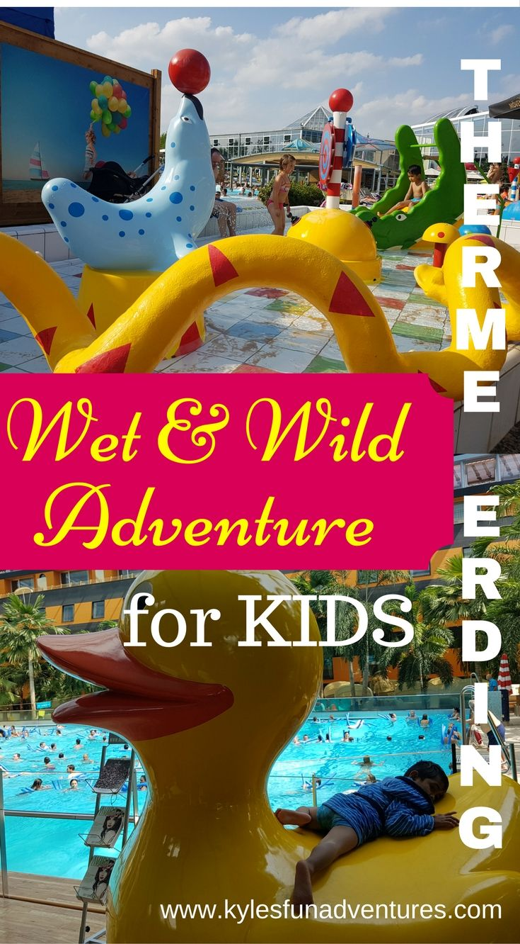 Our Wet and Wild Adventure at Galaxy Erding -Therme Erding, Germany