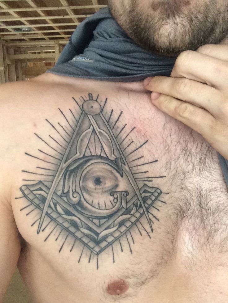 Best 25 masonic tattoos ideas on pinterest freemason for Masonic symbol tattoos