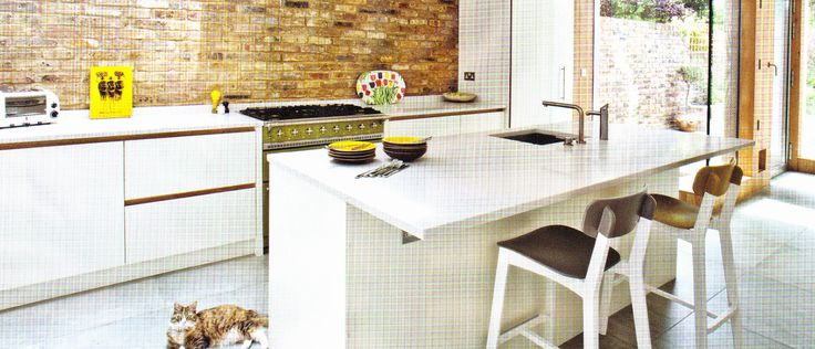 Kitchens Upon Thames - exposed brick