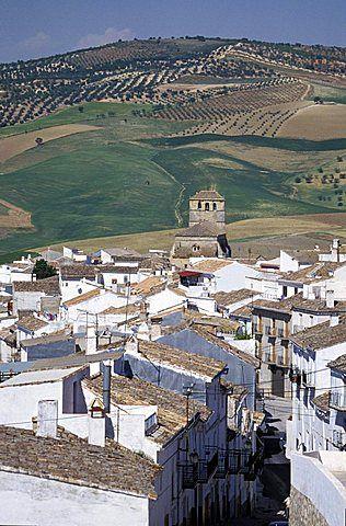 España, Andaloucia, Pueblos Blancos , Camino
