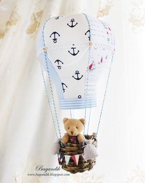 Моих рук дело: Морской воздушный шар :)