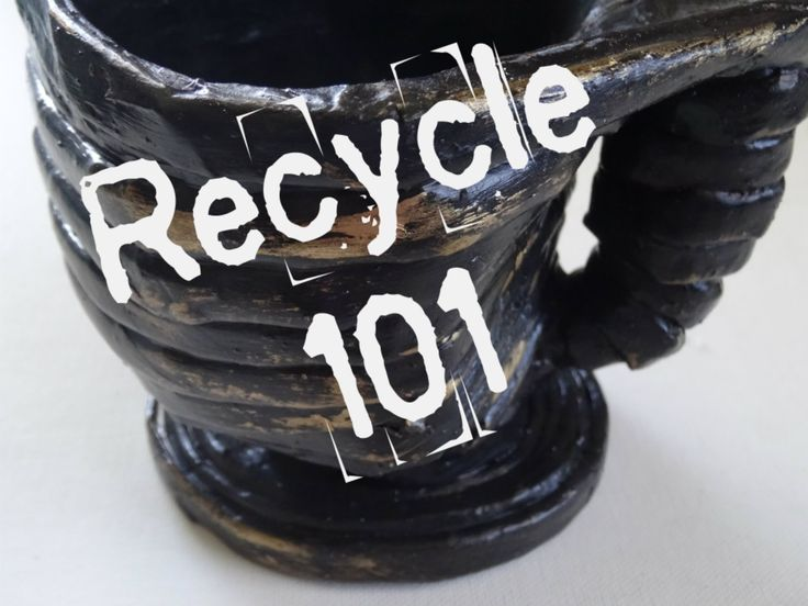 Crafting on a budget  - Recycled cup