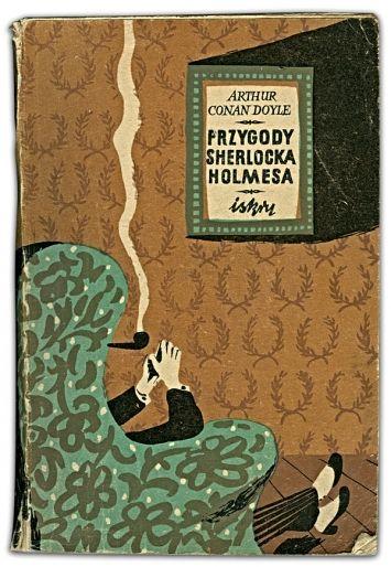 Vintage Sherlock Holmes bookcover