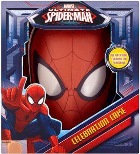 Buy Lightbody Spiderman Mask Celebration Cake - 16 Servings online in ASDA at mySupermarket