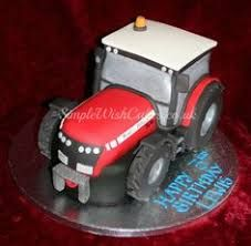 Image result for red tractor birthday cake