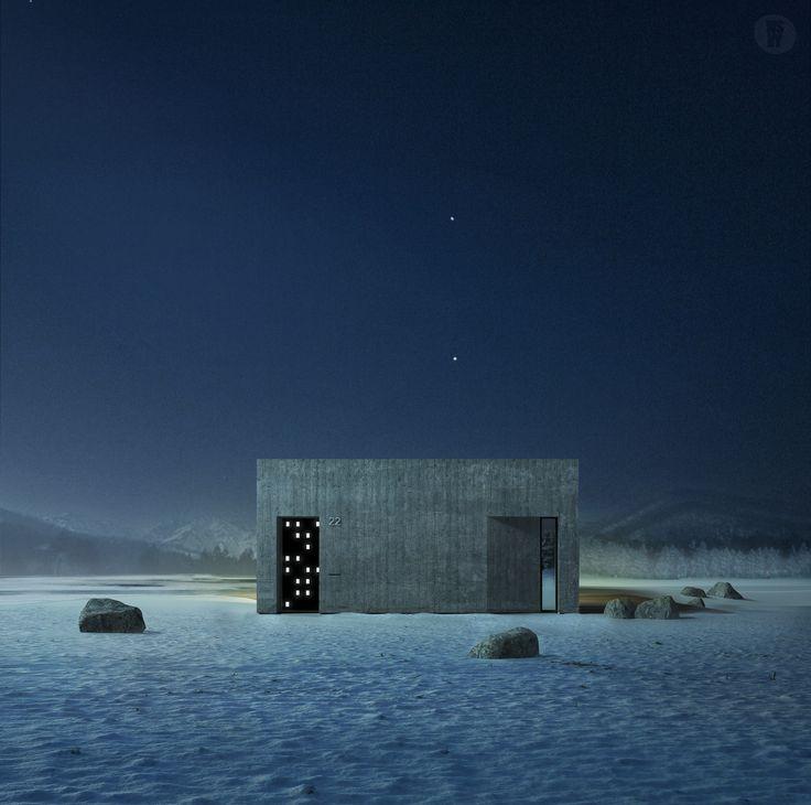 architecture, visualization, render