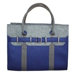 Large Grip Bag - Navy (Blue)  from the London collection