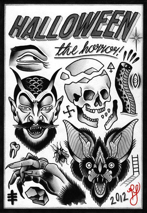 horror flash art - Google Search